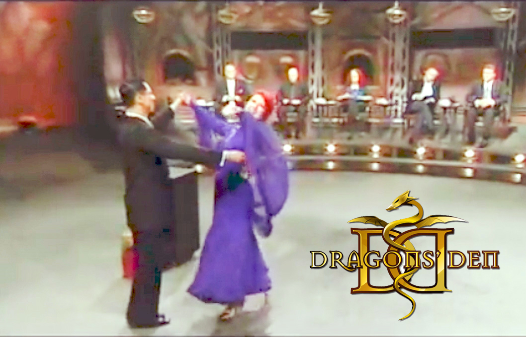 "danceScape on CBC ""Dragons' Den"""