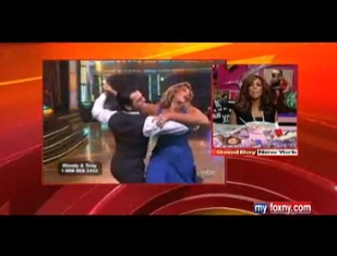 """Williams Relieved """"Dancing with the Stars"""" Run Is Over"""