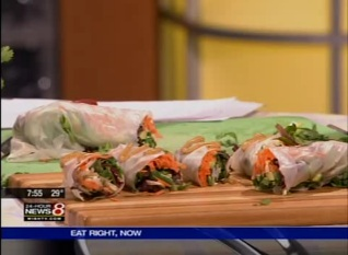 Vegetable and Fruit Wrap Recipe with Chef Wendell
