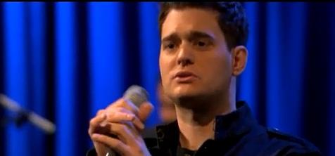 "Michael Buble – ""Call Me Irresponsible"""