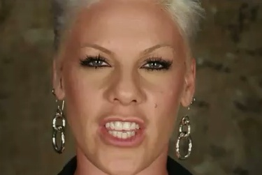 "P!nk – ""Raise Your Glass"""