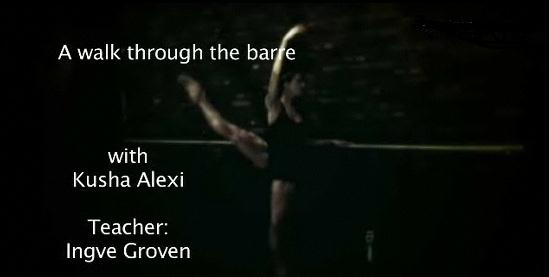The Ballet Barre – The inevitable Ballet Basics