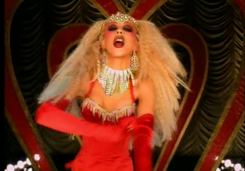 "Christina Aguilera, Lil' Kim, Mya, Pink – ""Lady Marmalade"""