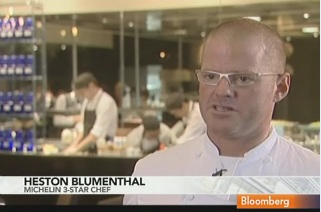 Blumenthal Opens First London Restaurant With Lion Dance