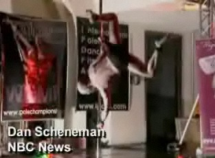 Man Wins Pole Dancing Competition