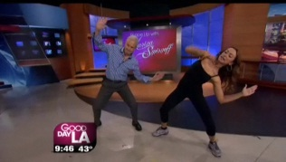 """Dancing with the Stars"" Karina Smirnoff on GDLA"