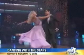 "Donny Osmond ""Dancing with the Stars"" success secret"