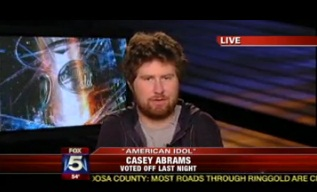 """Casey Abrams Booted from """"American Idol"""""""