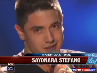"Stefano talks ""American Idol"" elimination"