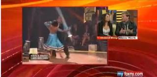 """Dancing with the Stars"" Cheryl Burke & Chris Jericho"