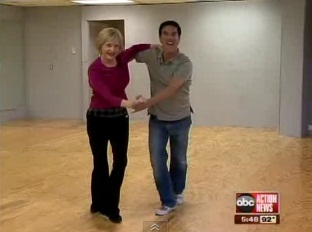 """Dancing with the Stars"" Florence Henderson and Corky Ballas in Tampa"