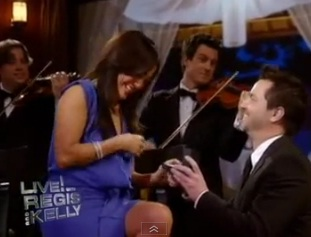 """""""Dancing with the Stars"""" judge Carrie Ann's surprise proposal"""