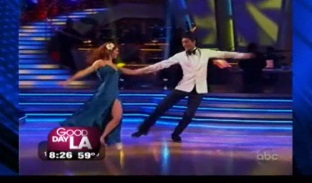 """Dancing with the Stars"" Evan Lysacek on GDLA"