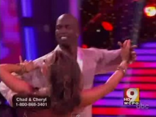 """Dancing with the Stars"" Chad Ochocinco & Cheryl dance in semi-finals"
