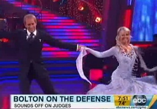 "Bolton calls out Bruno on ""Dancing with the Stars"""