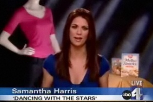 """Dancing with the Stars"" Samantha Harris"
