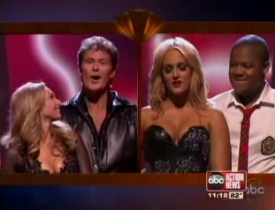 """Dancing with the Stars"" The Hoff is off!"