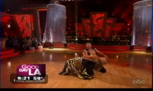 """Dancing with the Stars"" Erin and Maks on GDLA"