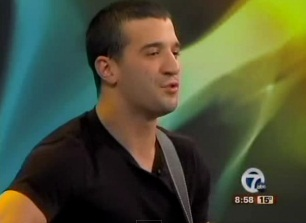 """Dancing with the Stars"" Mark Ballas performs his new song"