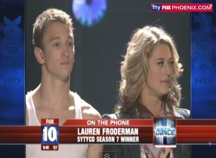 "Phoenix Teen Lauren Froderman Wins FOX ""So you think you can Dance"" Show"