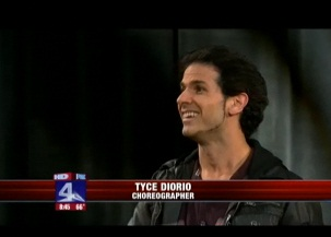 """So you think you can Dance"" Choreographer Tyce Diorio in DFW"