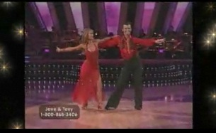 "Watch Liz Dance With Tony Dovolani of ""Dancing with the Stars""!"