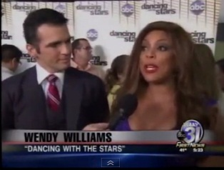 """Wendy Williams gets voted off """"Dancing With the Stars"""""""