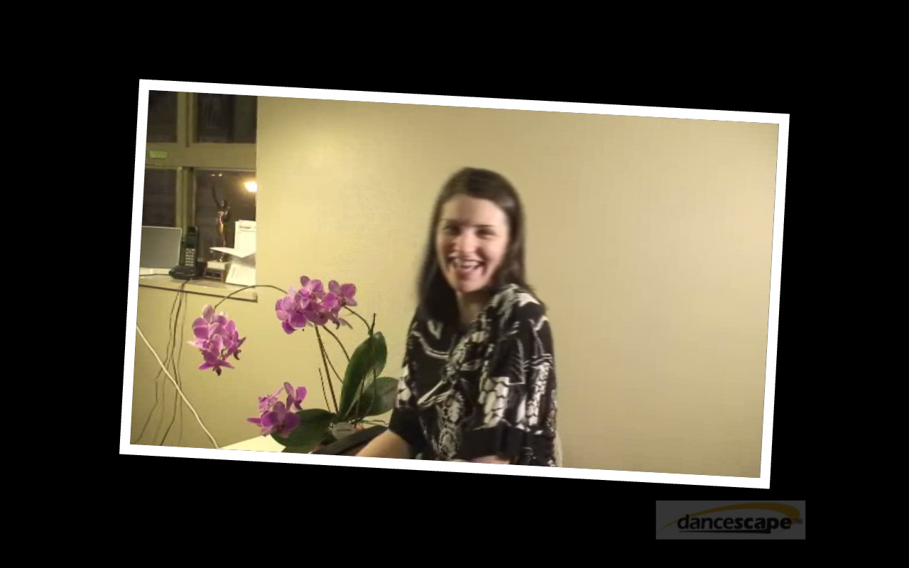 Meet Renata Hyszko, danceScape Guest Instructor (Bloopers Edition)