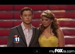 """American Idol"" Crowns Scotty McCreery Winner"