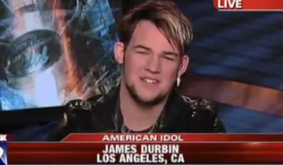 """American Idol's"" James Durbin Bids Adieu"