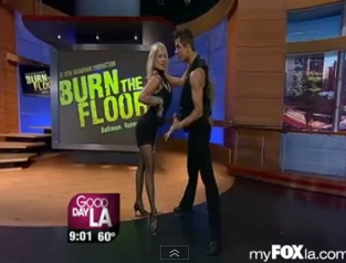 """Burn The Floor's"" Anya And Pasha on GDLA"