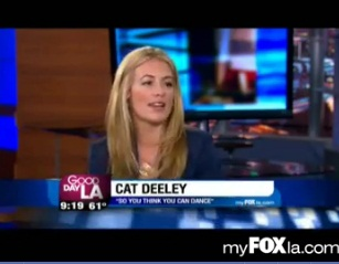 """So you think you can Dance"" host Cat Deeley on GDLA"