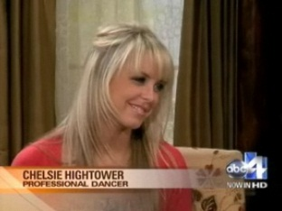 "Chelsie Hightower-""Dancing with the stars"""