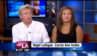 """Dancing with the Stars"" Carrie Ann and ""SYTYCD"" Nigel Lythgoe on GDLA"