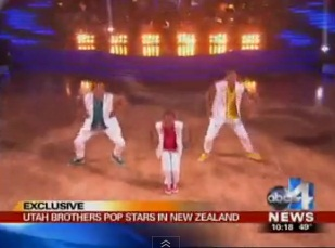 "Spanish Fork brothers perform on ""Dancing With the Stars"""