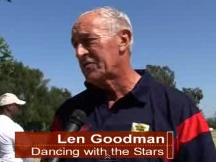 """Dancing with the Stars"" Len Goodman challenges Cowell"