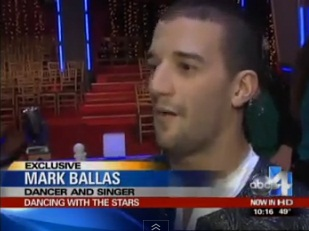 """Dancing with the Stars"" Mark Ballas shows musical side"