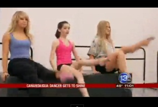 "Canandaigua Girl, Tayla Kelley on ""Dancing with the Stars"""