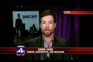 """American Idol"" David Cook Talks New Music"