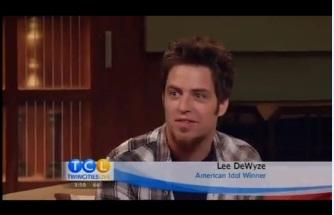 """""""American Idol"""" winner Lee DeWyze"""