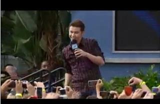 """American Idol"" winner Scotty McCreery at Disney"