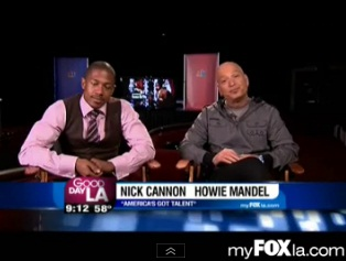 """America's Got Talent's"" Nick Cannon And Howie Mandel on GDLA"