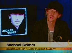 """America's Got Talent"" winner Michael Grimm"