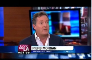"""America's Got Talent"" Judge Piers Morgan on GDLA"