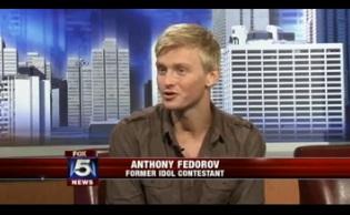 """Former """"American Idol"""" star Federov in 'Technicolor Dream Coat'"""