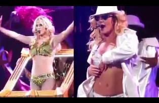 Britney Spears Kicks Off Femme Fatale