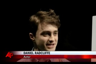 "Daniel Radcliffe MCs NYC School Event, Dishes on ""Tony's"""