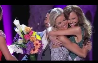 "Crowning ""Miss USA"""