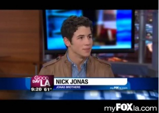 Nick Jonas is Searching For a Superstar