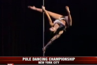 Pole Dancing Championship held in NYC